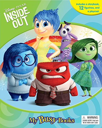 Disney | Pixar INSIDE OUT - My Busy Book (includes figurines)