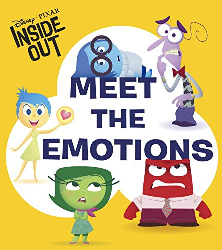 Disney | Pixar INSIDE OUT - Meet the Emotions (Glitter Board Book)