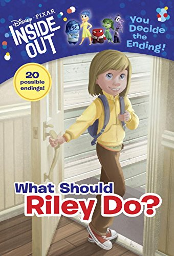 Disney | Pixar INSIDE OUT - What Should Riley Do? (A Stepping Stone Book(TM))