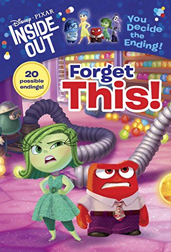 Disney | Pixar INSIDE OUT Movie Books - Forget This! (A Stepping Stone Book (TM))