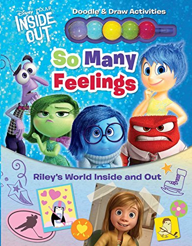 Disney | Pixar - Inside Out: So Many Feelings: Riley's World Inside and Out