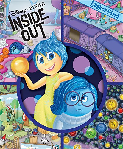 Disney | Pixar INSIDE OUT Look and Find® Book