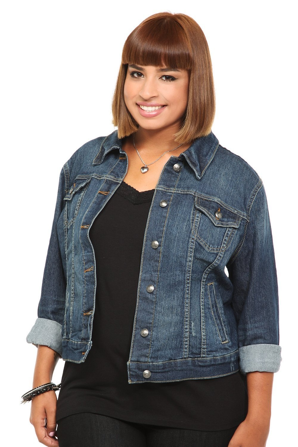 6a0b9e48db19f Plus Size Clothing Spring 2015 Trends - Denim! Shirts