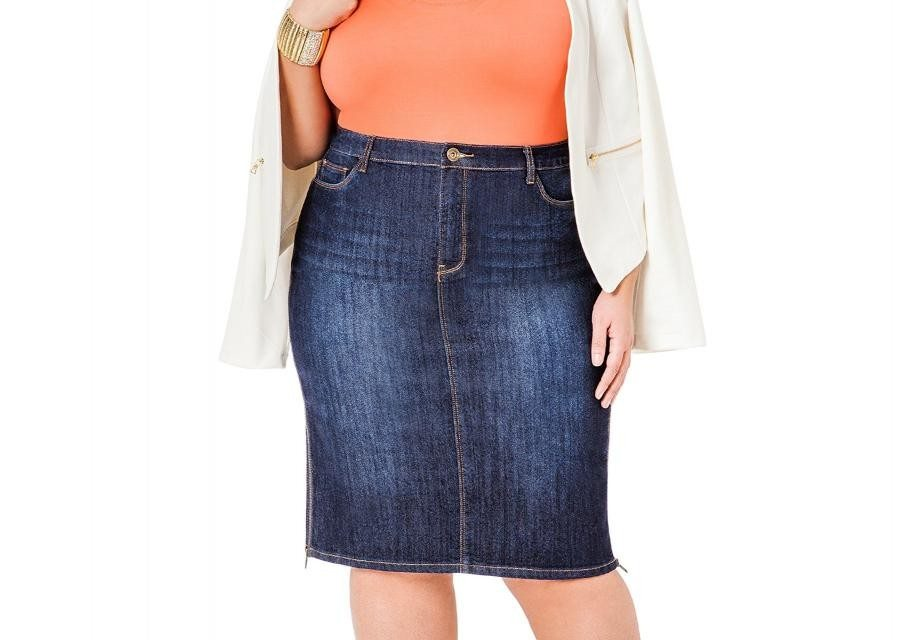 Plus Size Clothing Spring 2015 Trends – Denim!