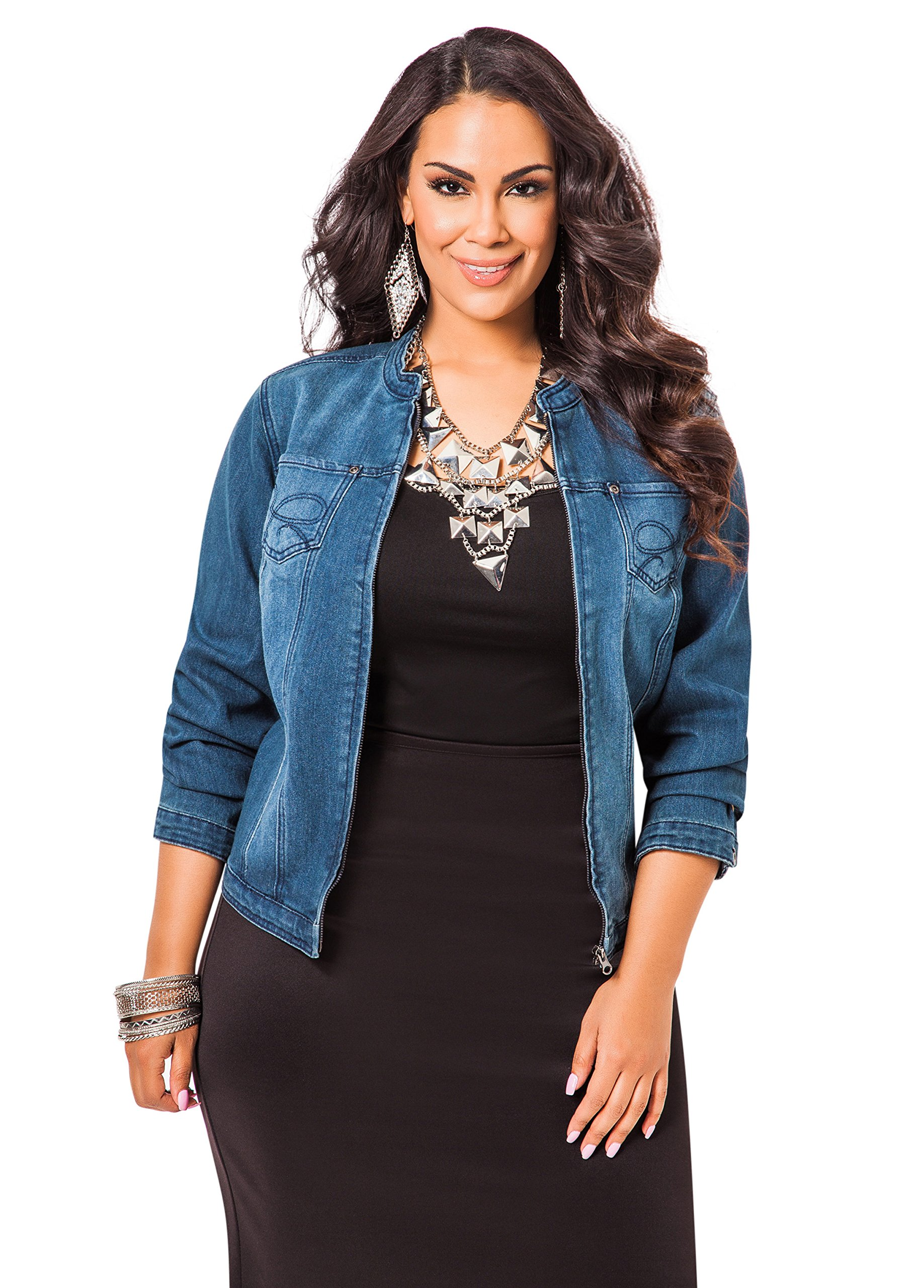 Plus Size Clothing Spring 2015 Trends - Denim!