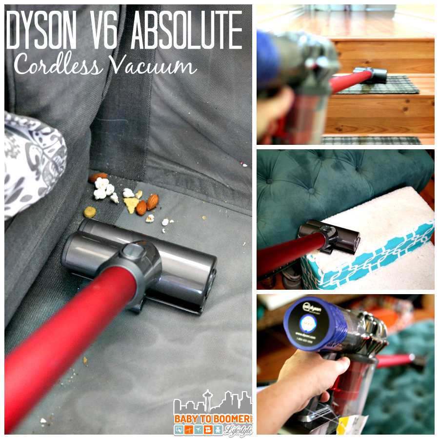 Dyson Cordless Vacuum Review available at Best Buy - ad