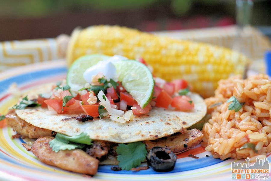 Easy Chicken Fajita-Style Quesadillas Recipe