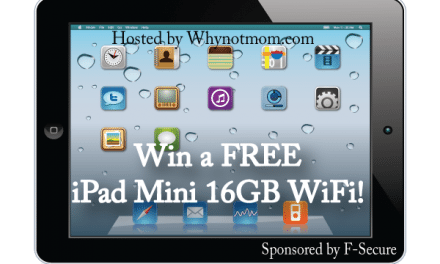 Enter to Win an iPad Mini & a Year of F­Secure Freedome VPN® #GIVEAWAY