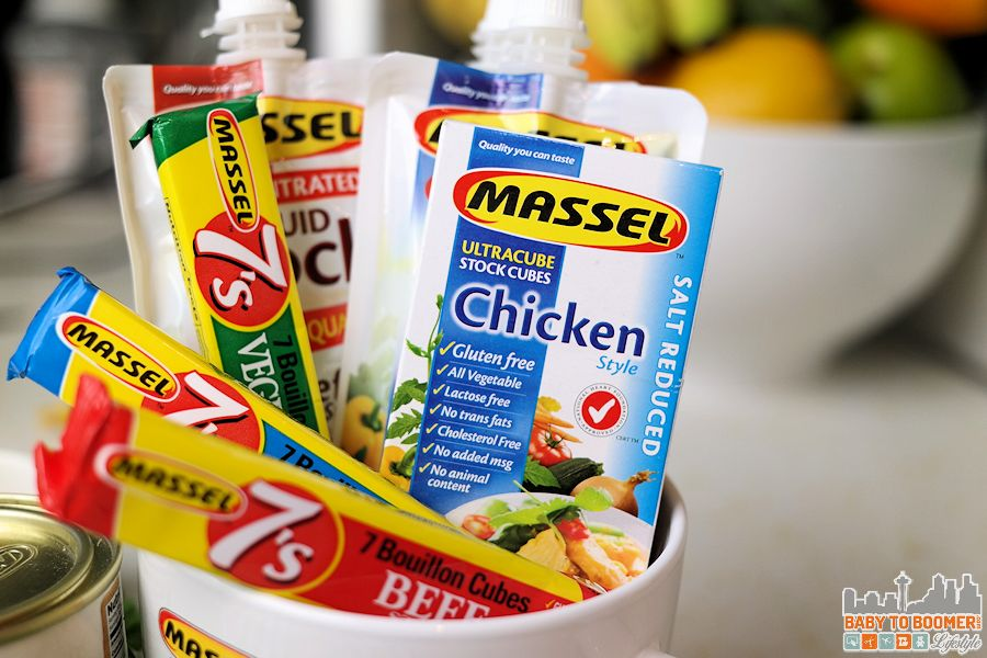 Massel Chicken Broth - vegetarian and Vegan-friendly - 5 minute Vegetarian Chicken Noodle Soup ad