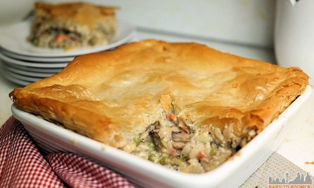 Best Vegetarian Chicken and Mushroom Bake