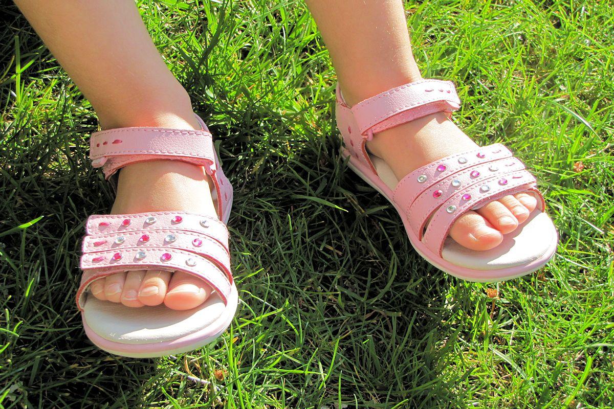 Pediped Pink Sandals - pediped Flex Lynn Sandals ad