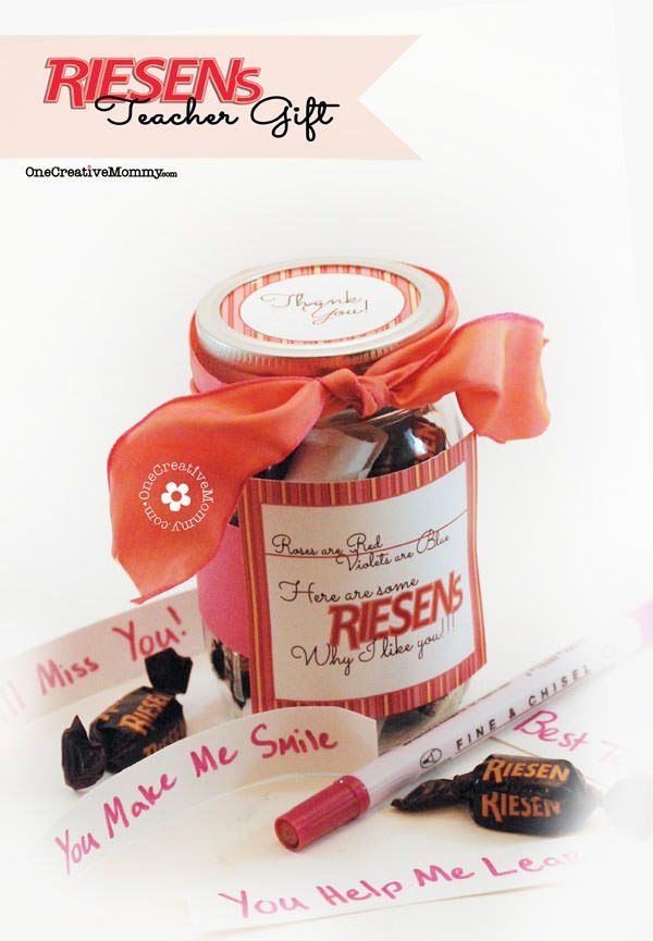 Teacher Appreciation Gift Ideas and Free Printables - Riesens Teacher Gift Riesens Why I Like You1