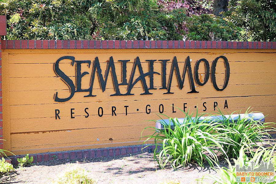Semiahmoo Resort, Golf, and Spa  -- Entrance Sign ad