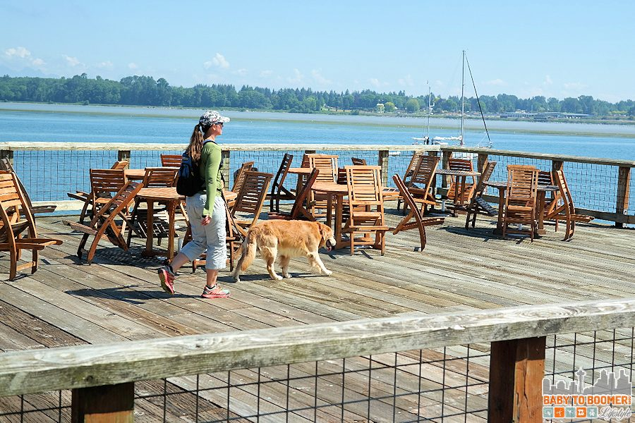 A dog-friendly location with miles of beach and trails to explore.