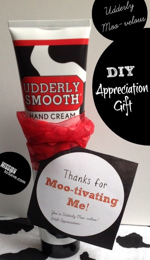 Udderly Smooth Teacher Appreciation Gift