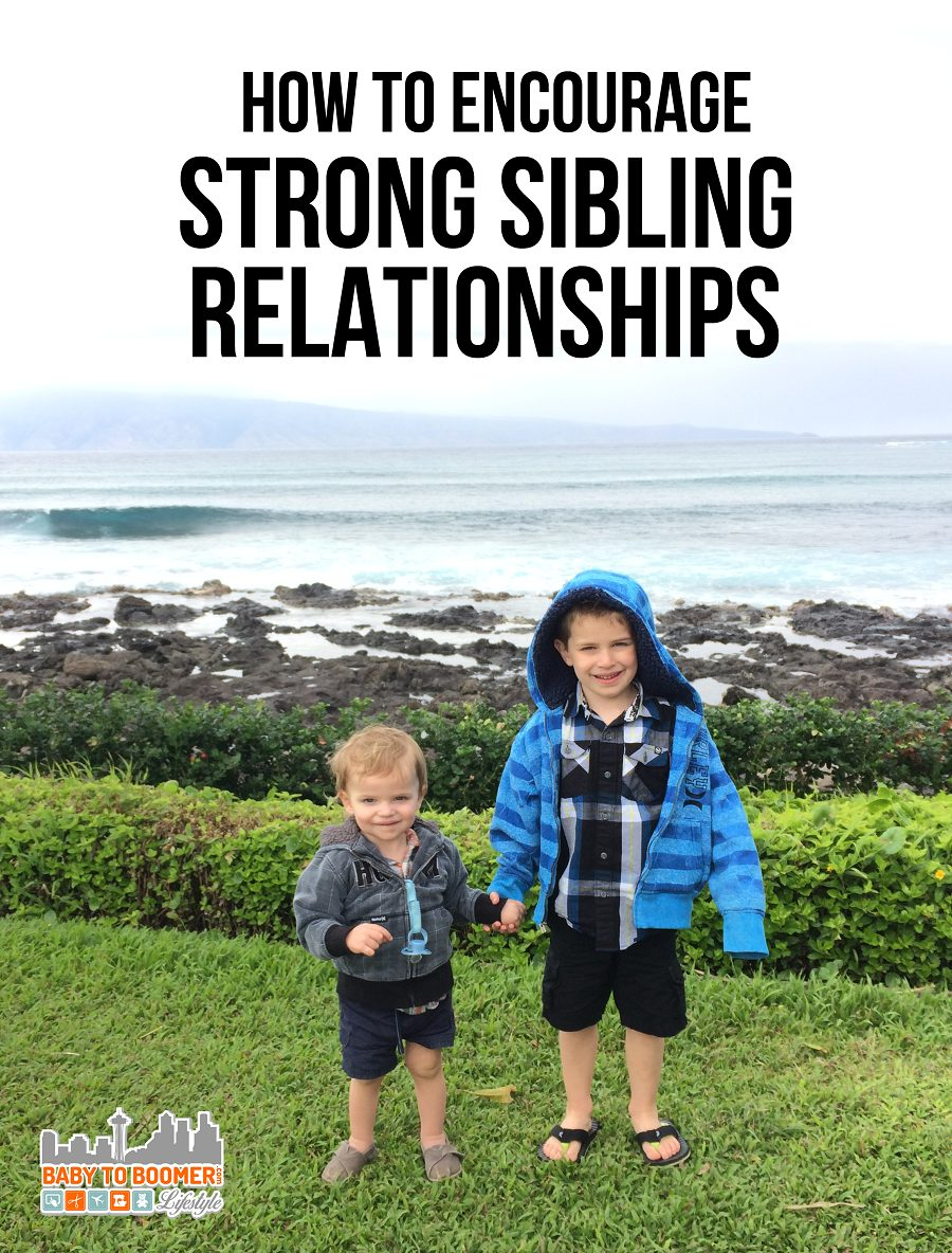 teaching kids to form lifelong sibling bonds