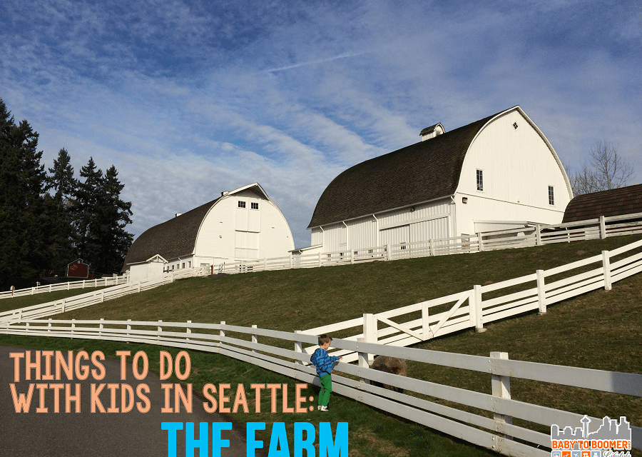 Kid Friendly Seattle: A Visit to Kelsey Creek Farm