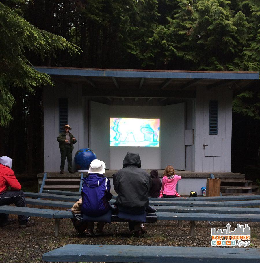 Kalaloch campground ranger presentation