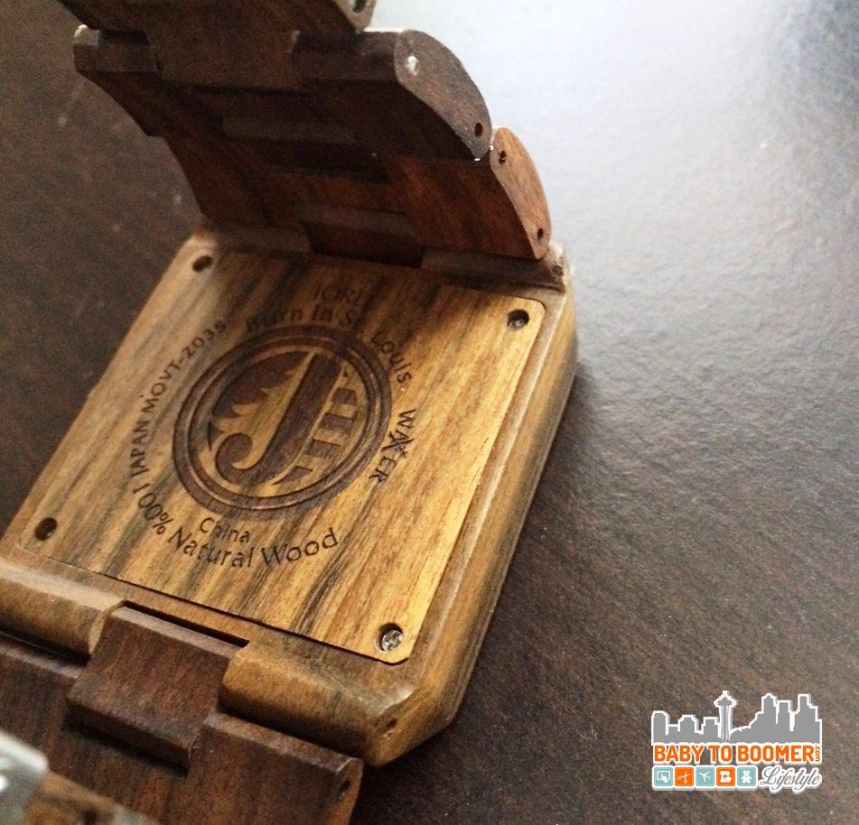 Jord Delmar Series Blue Wood Watch - ad