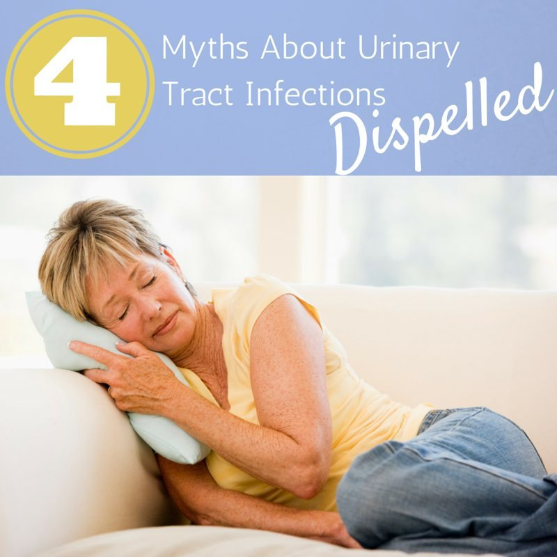 4 Myths About UTI:  The Facts About Urinary Tract Infections ad