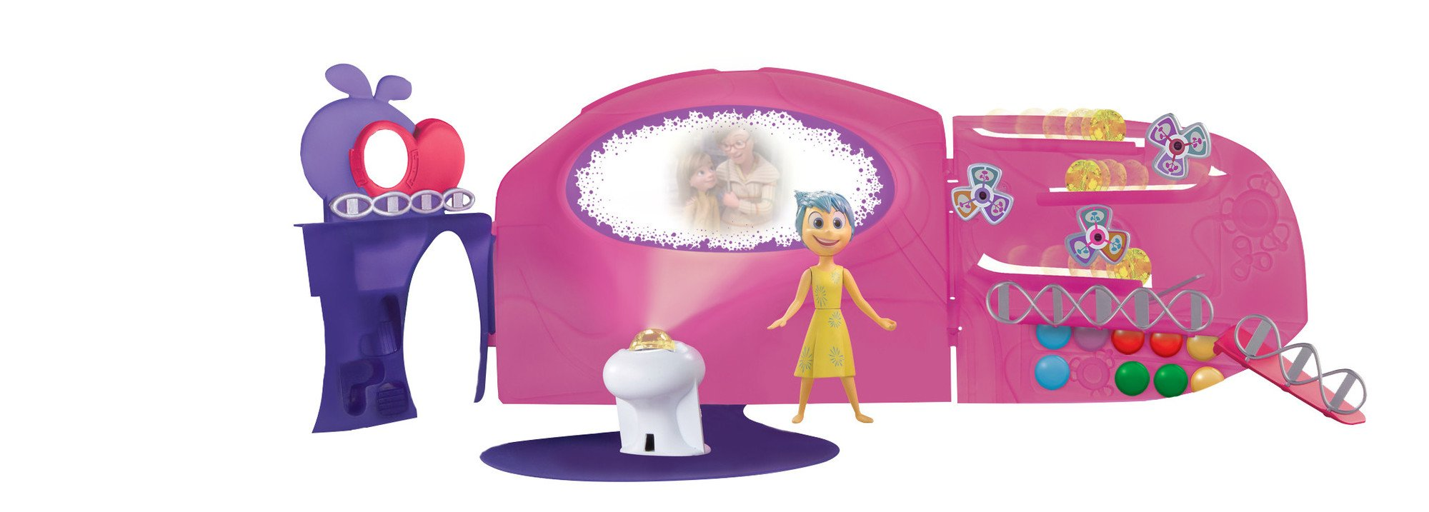 TOMY Inside Out Headquarters Playset AD