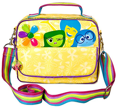 Disney / Pixar Inside Out Reversible Bag - Lunch bag or small book bag - perfect for vacations, adventures, or for school.