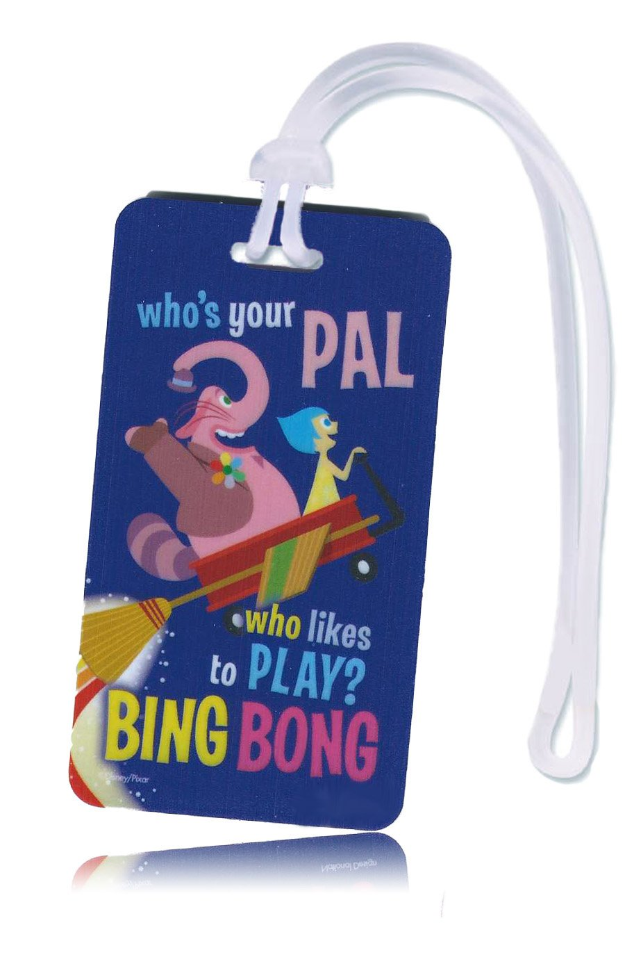 Disney Inside Out Backpack and Kids Luggage ID Tag