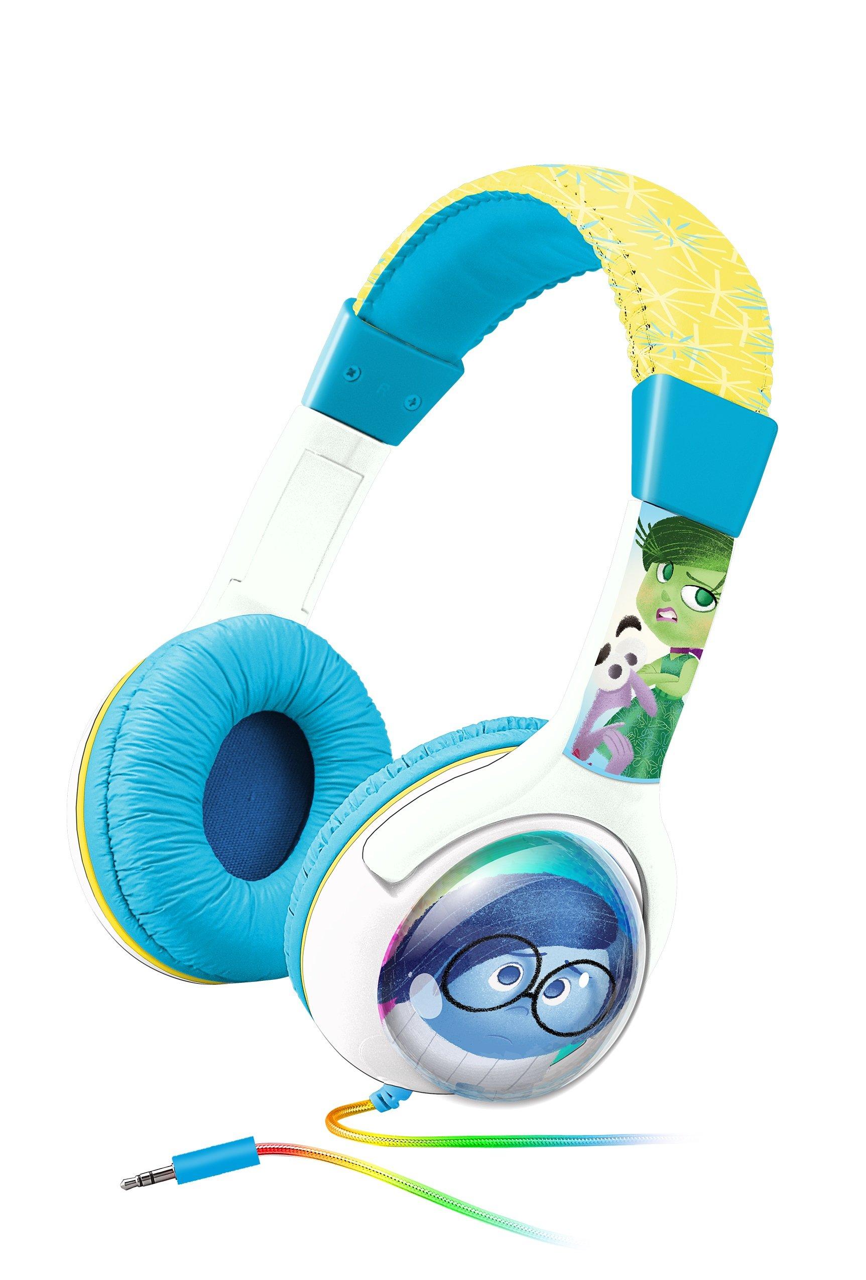 KIDdesigns Inside Out Kid Friendly Headphones