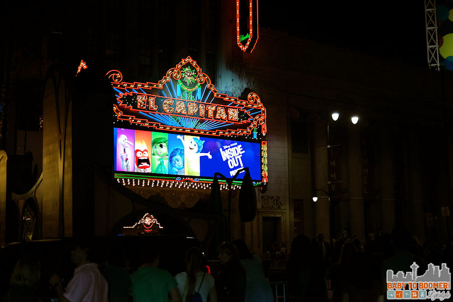 Disney Pixar INSIDE OUT movie premiere - Hollywood, CA #‎InsideOutEvent ad