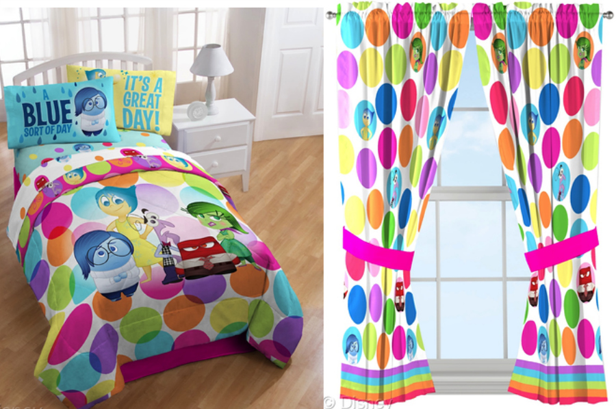 Disney Pixar INSIDE OUT Bedding - kids bed set  - Inside Out Toys - Disney Store Exclusives and Mass Retailers ad