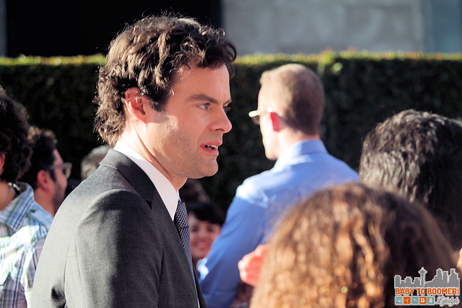 Actor Bill Hader (the voice of Fear)  at the Disney | Pixar INSIDE OUT Movie Premiere - Hollywood, CA #InsideOutEvent ad