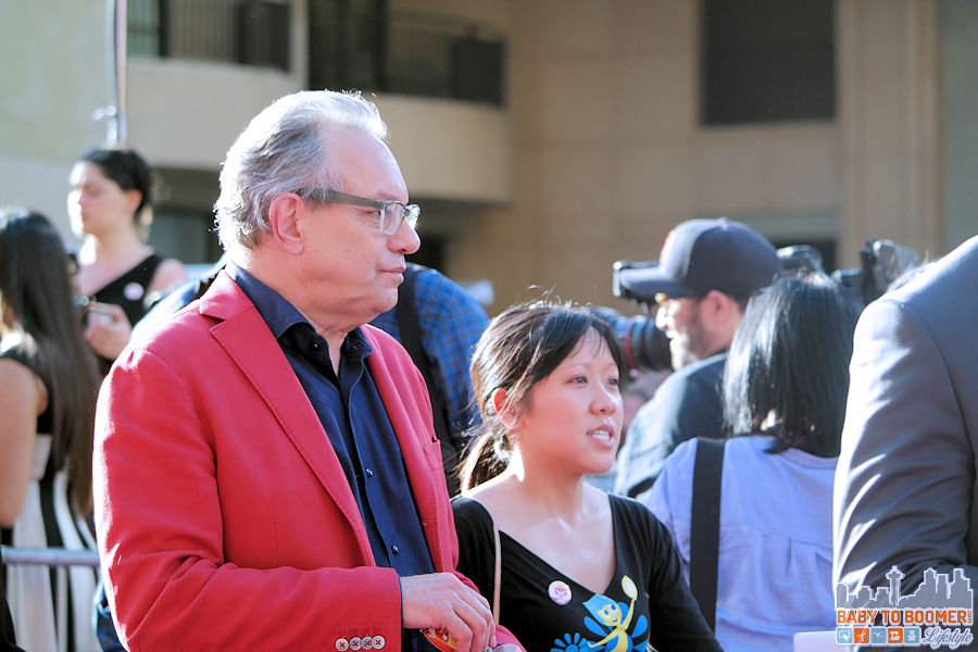 Comedian Lewis Black (voices Anger)  at the Disney | Pixar INSIDE OUT Movie Premiere - Hollywood, CA #‎InsideOutEvent ad