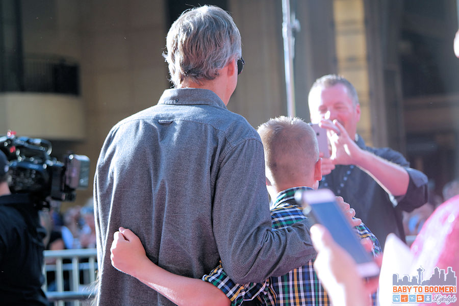 Tony Hawk making a fan's day at the Disney | Pixar INSIDE OUT Movie Premiere - Hollywood, CA #‎InsideOutEvent ad
