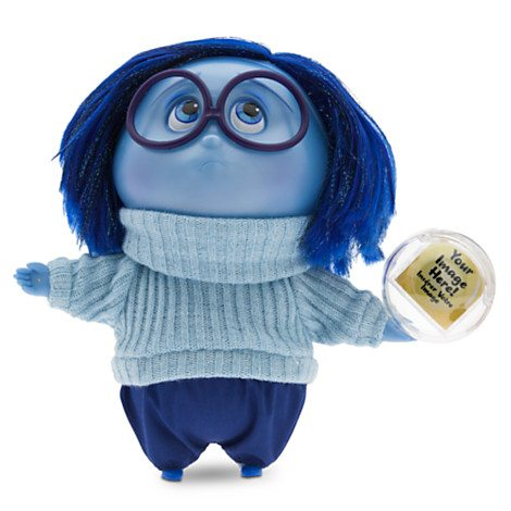 Disney Store INSIDE OUT Deluxing Talking Sadness Doll  ad