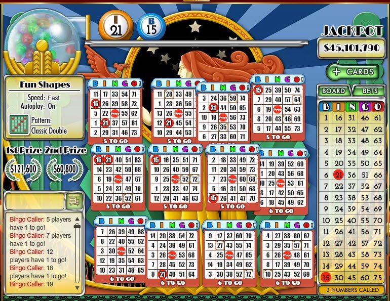 doubledown casino bingo