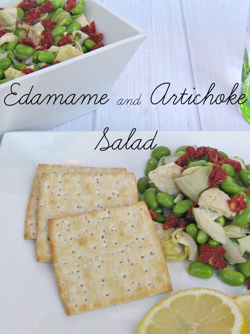 Edamame and Artichoke Salad