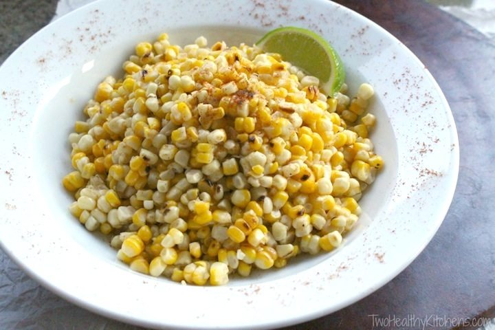 Grilled Chili-Lime Corn Salad