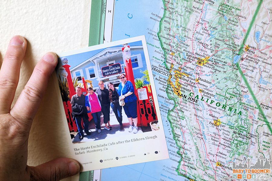 Social Media Snapshots Map Project - Travel Photo Project -HP Instant Ink: My Creative Way to Display Travel Photos #NeverRunOut @HP ad #travel