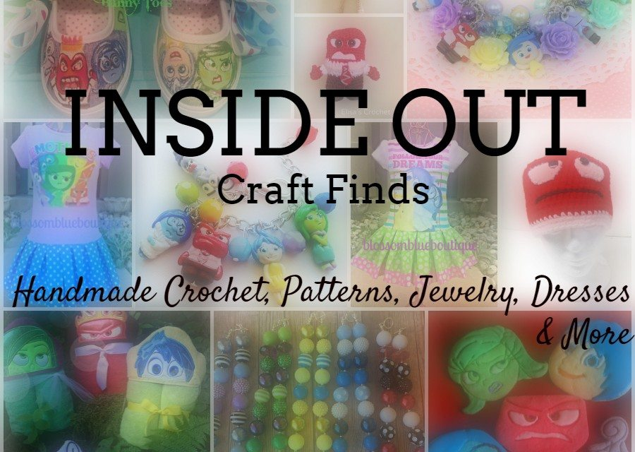 INSIDE OUT Craft Finds: Handmade Crochet, Jewelry, Dresses & More