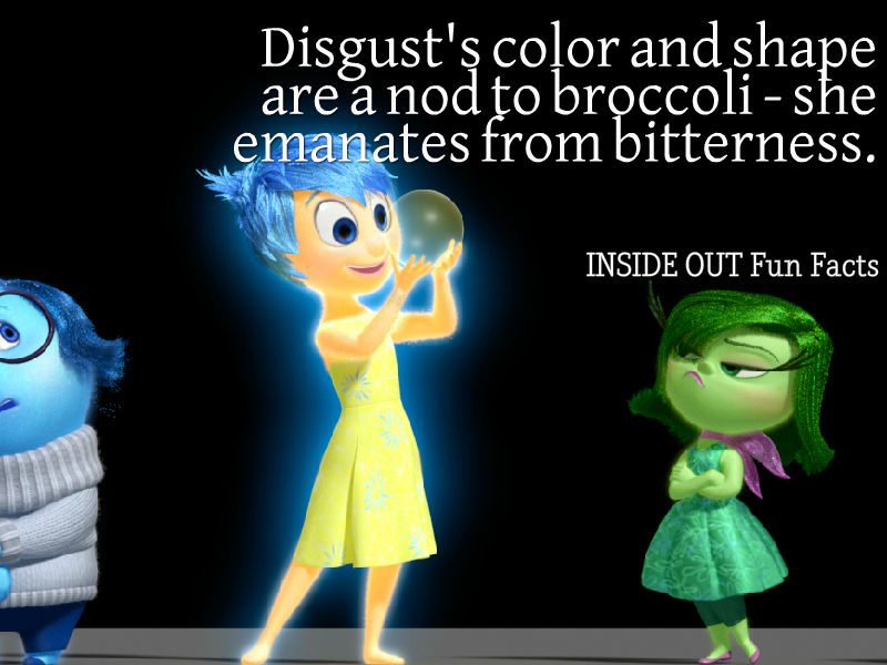Inside Out Fun Facts - Disgust