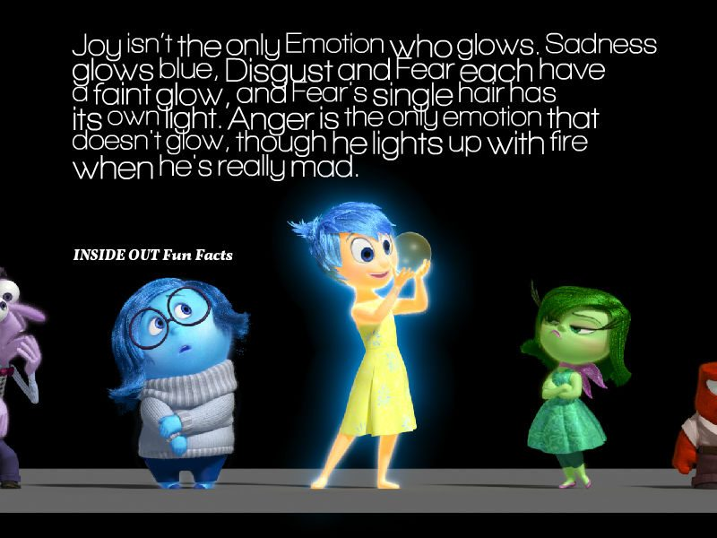 20 INSIDE OUT Fun Facts and Pixar Easter Eggs - Which Character's Glow?
