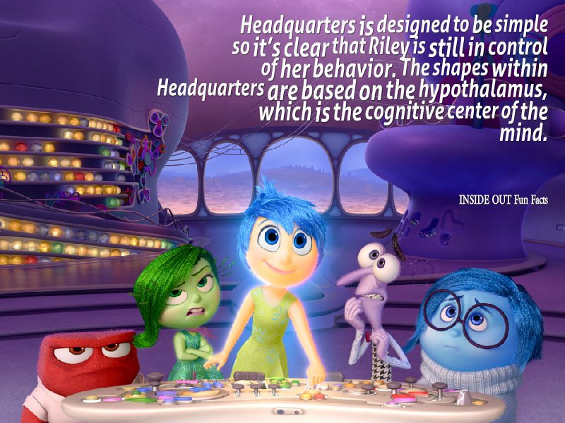 20 INSIDE OUT Fun Facts and Pixar Easter Eggs - Headquarters