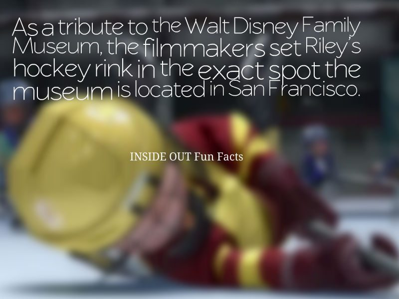 20 INSIDE OUT Fun Facts and Pixar Easter Eggs - Hockey