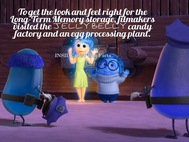 Inside Out Fun Facts - Jelly Belly