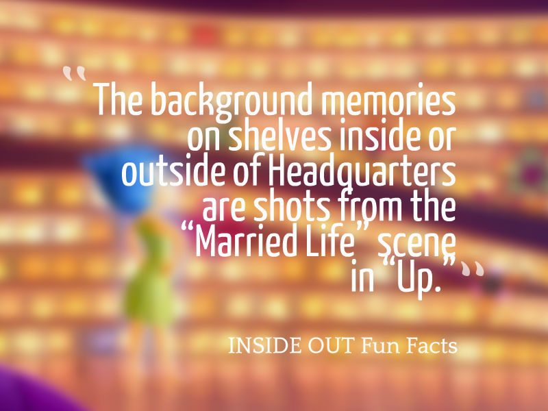 Inside Out Fun Facts - Memory Balls