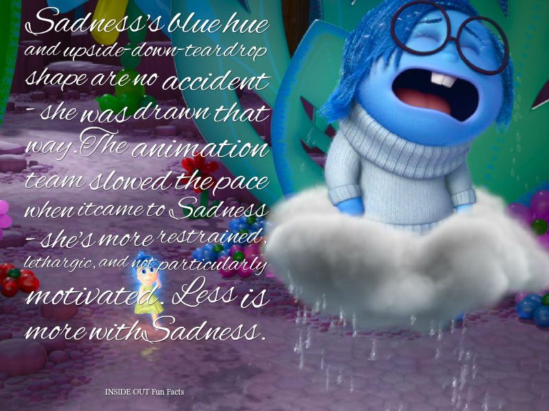 Inside Out Fun Facts - Sadness