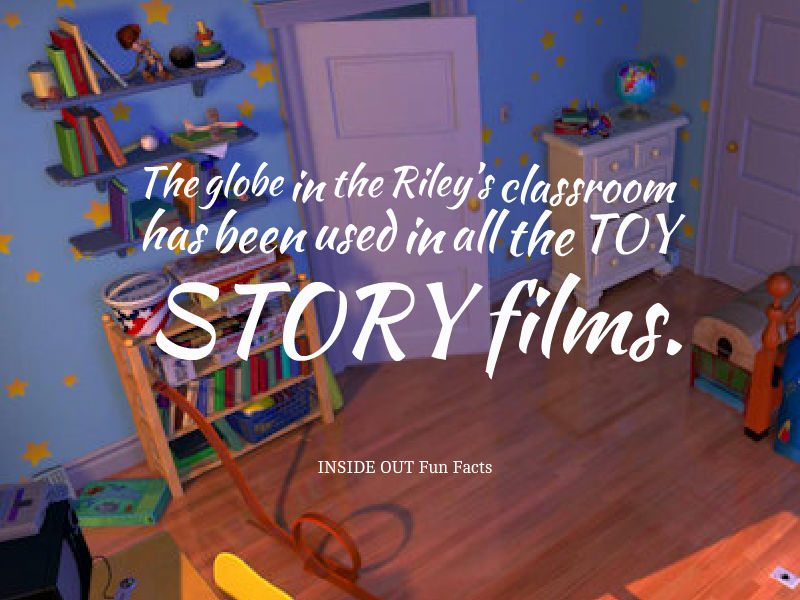 Inside Out Fun Facts - Toy Story Globe