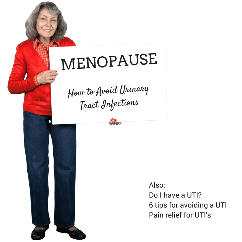 Menopause and UTI - ad