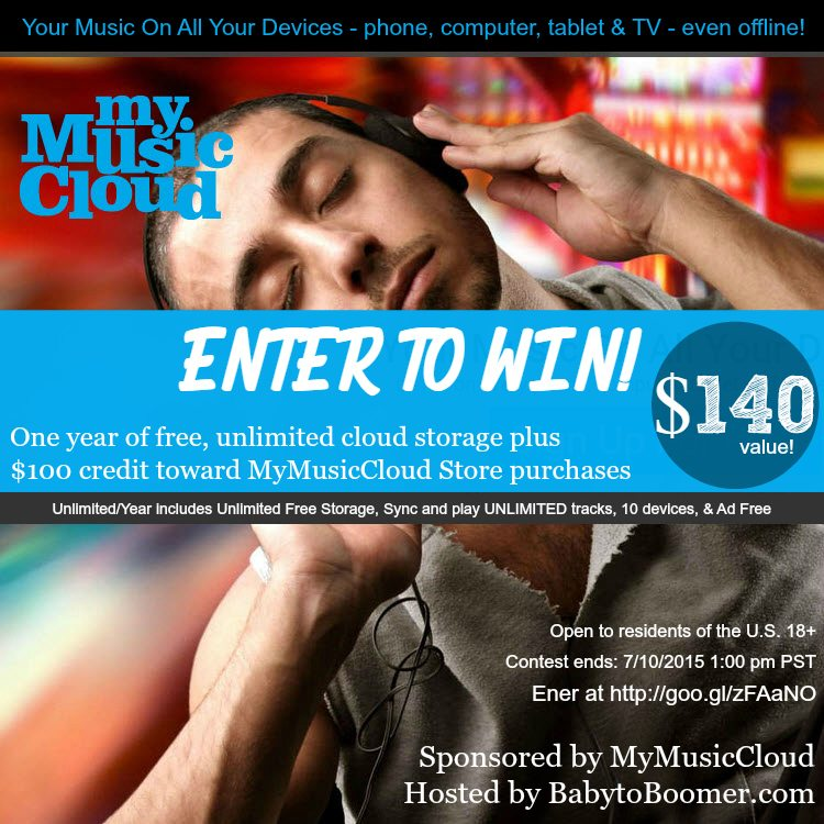 MyMusicCloud Giveaway - $140 Retail value  #Giveaway ad