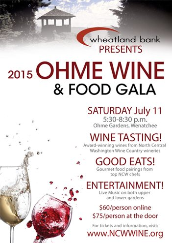Ohme Wine and Food Gala @ohmegardens #ncwlove #pickwenatchee